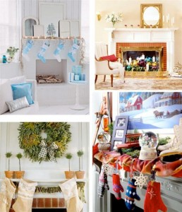 Mantel-Christmas-Design-Decorating-Ideas-with-simple-design