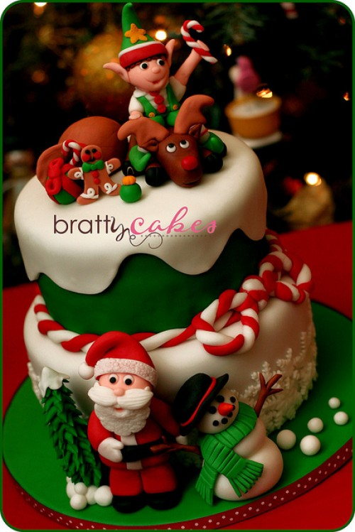 Beautiful Christmas Cake PinChristmas.com