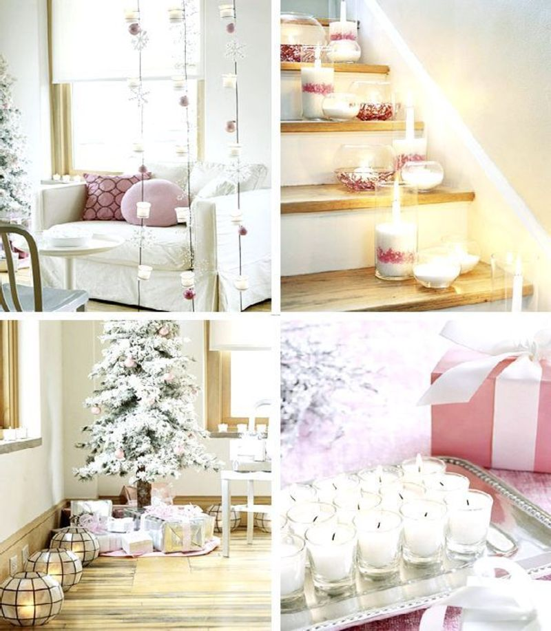 Simple christmas decorating ideas for home interior design Simple holiday home designs