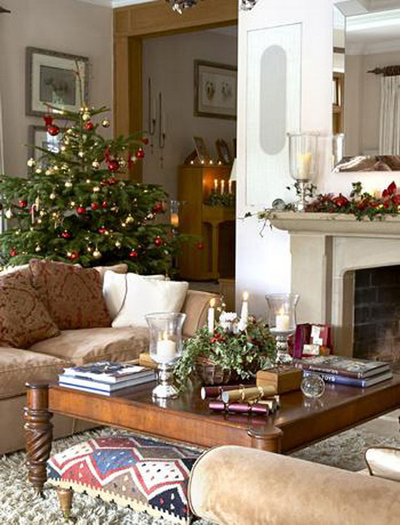 Christmas interior designs ideas for country house