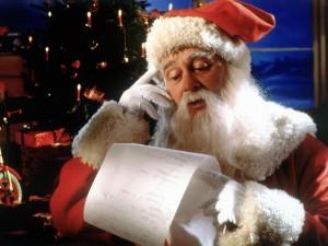christmas parties calling Santa
