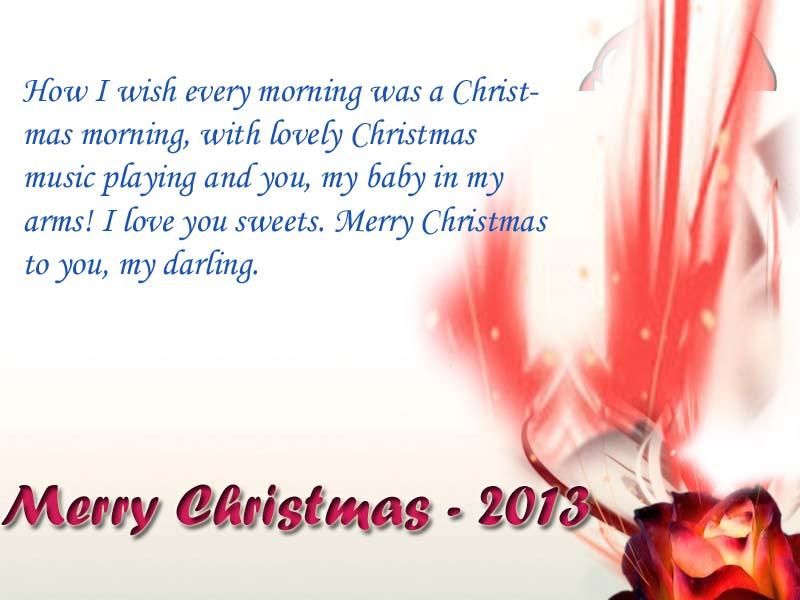 Christmas greeting for girl friend  PinChristmas.com