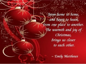 Christmas Brings Us Close To Each Other Funny Quotes The