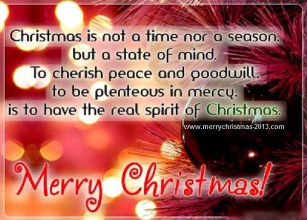 Christmas Facebook Status Quotes | PinChristmas.com