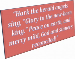 Art Quotes Hark The Herald Angels Sing Sinners Reconciled In Pink