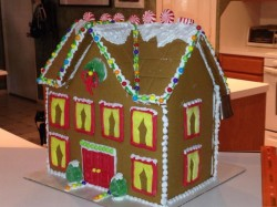 Gingerbread Mansion!