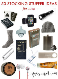 50 Stocking Stuffer Ideas for men – Pin-Plus.com