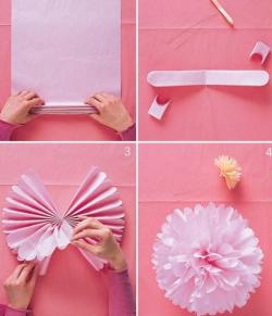 DIY Pom Poms | BrideScrapbook.com
