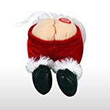 Tootin Santa Farting Santa Butt Holiday Ornament