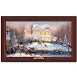 Wall Decor: Thomas Kinkade Victorian Christmas II Wall Decor by The Bradford Exchange