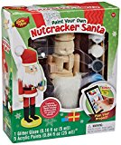 Works of Ahhh Unfinished DIY Wooden Santa Christmas Nutcracker Painting Kit