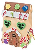 Gingerbread House Paper Gift Bag Craft Kit /Christmas/Winter(makes 12)