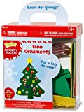 Felties Felt Activity Bucket – Christmas Tree Ornaments – Makes 12
