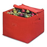 Innovative Home Creations Christmas Ornament Storage, 15.7 by 15.7 by 13-Inch