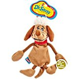 Dr. Seuss How the Grinch Stole Christmas Max Flattie Dog Toy, Medium